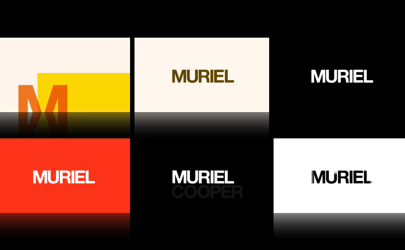 Pentagram Videos for Muriel Cooper Event